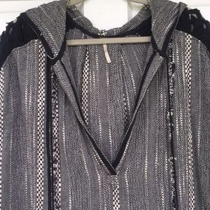 Free People woven tunic dress moroccan - as is